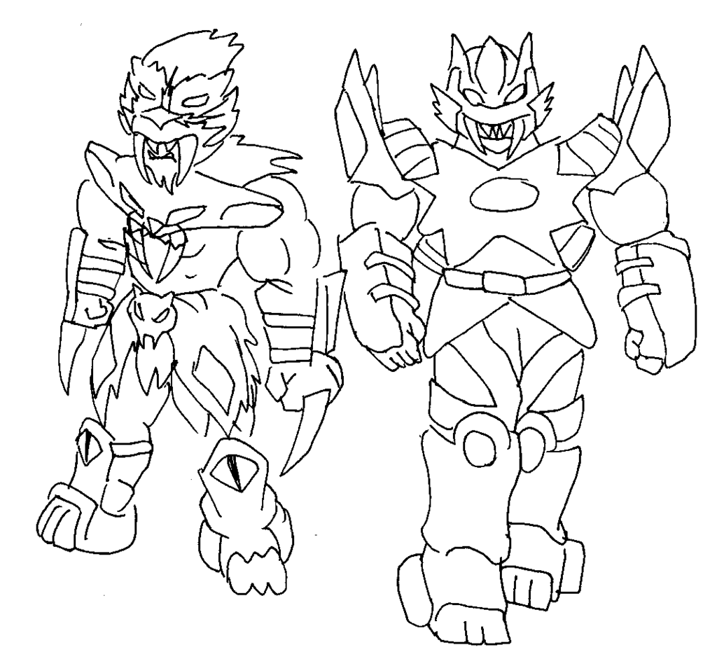 1024x931 Free Printable Power Rangers Coloring Pages For Kids