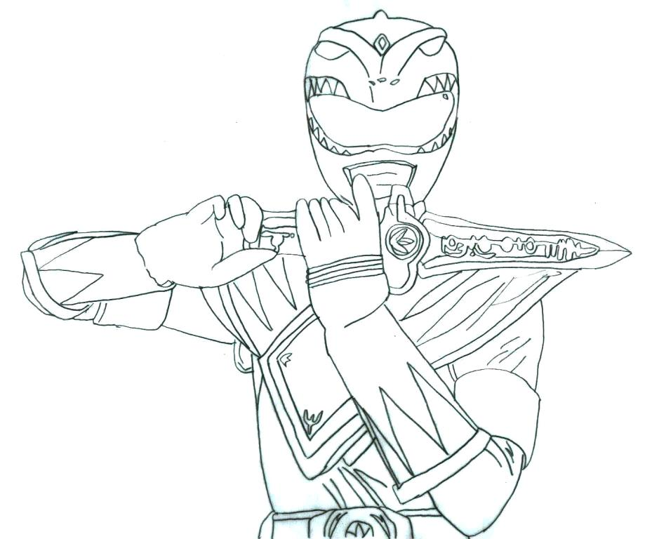 929x768 Power Ranger Color Pages Fancy Mighty Power Rangers Coloring Pages