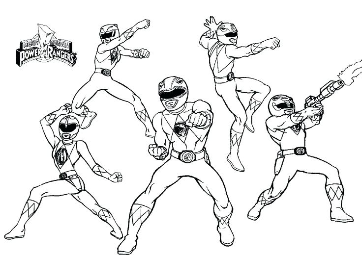 736x520 Power Ranger Coloring Pages Best Mighty Power Rangers Coloring