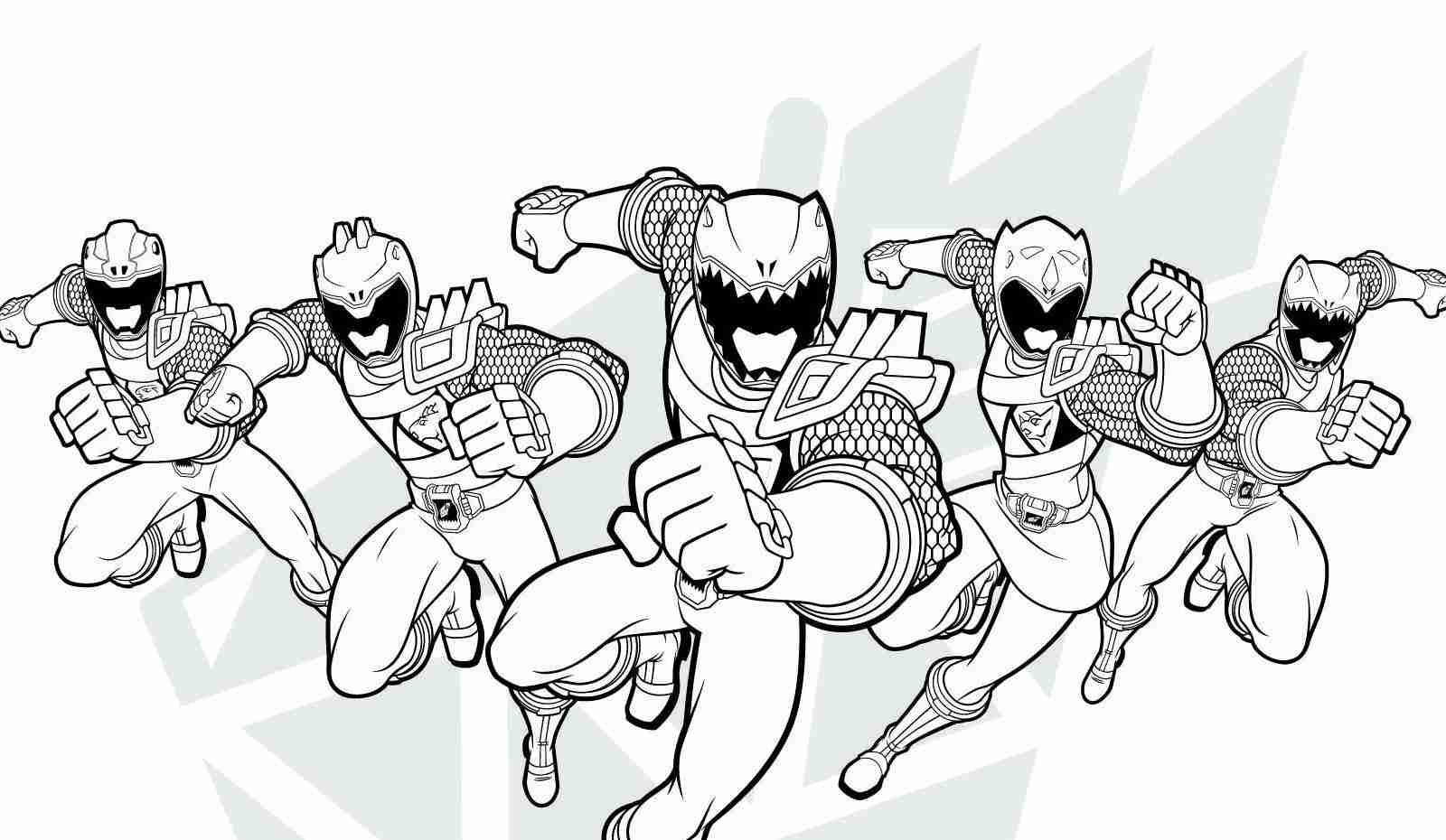 1600x930 Power Rangers Megaforce Coloring Pages Olegratiy