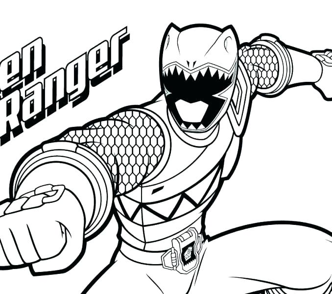 678x600 Power Rangers Megaforce Coloring Pages Printable Power Ranger