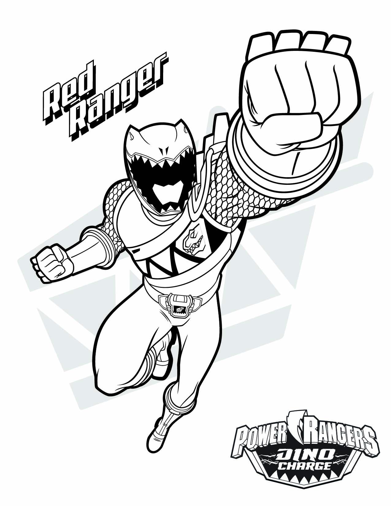 1275x1651 Power Rangers Super Megaforce Coloring Pages Copy Red Ranger Them