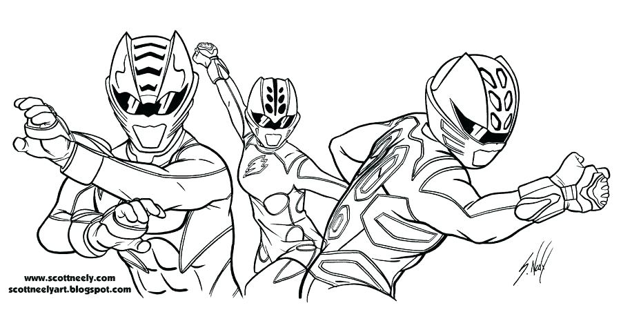 900x449 Power Rangers Megaforce Coloring Pages Professional
