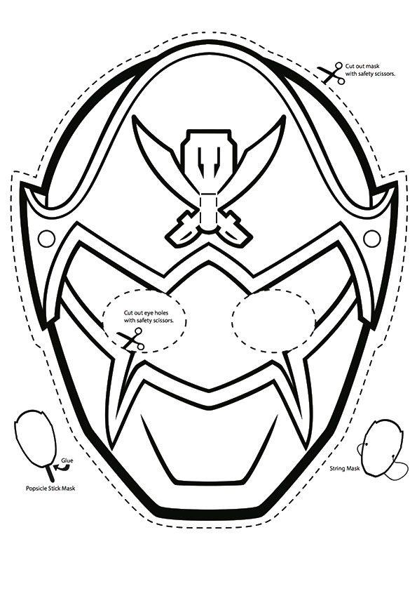 595x842 Print Coloring Image Power Rangers Megaforce, Birthdays