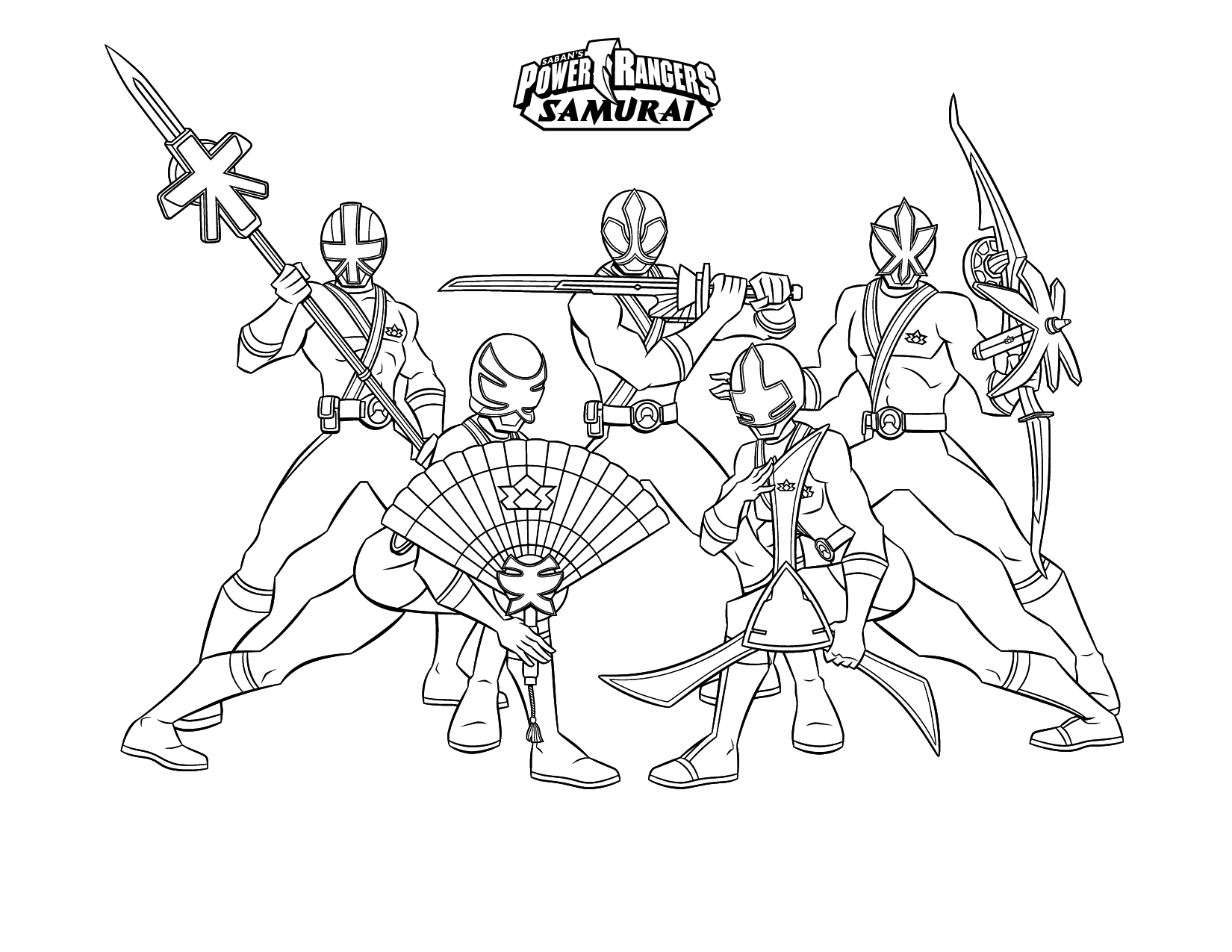 1650x1275 New Beautiful Simple Samurai Power Rangers Coloring Pages For Boys