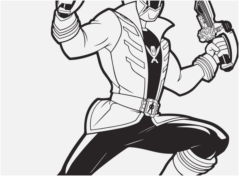 827x609 Power Ranger Coloring Pages Footage Power Rangers Megaforce