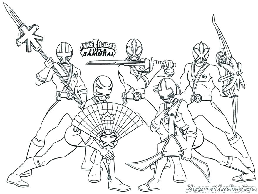 878x659 Megazord Coloring Pages Power Rangers Samurai Coloring Pages