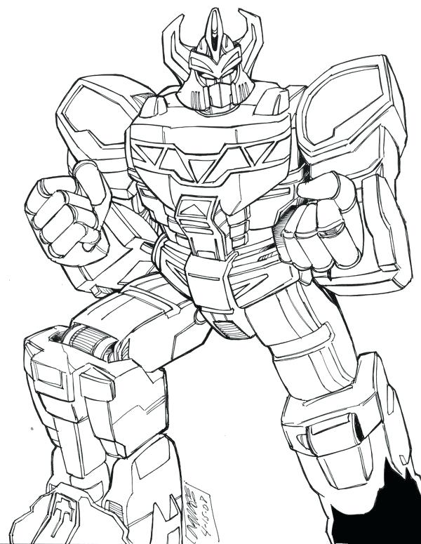 600x775 Megazord Coloring Pages Toy Coloring Page Power Rangers Dino