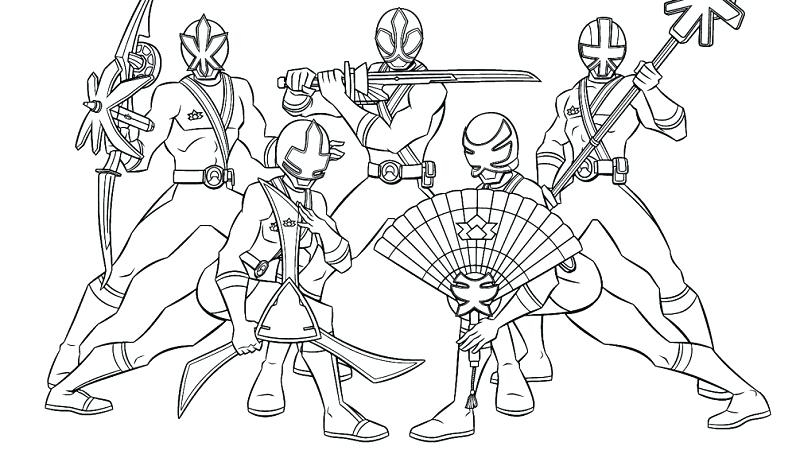 800x458 Power Ranger Samurai Coloring Pages Megazord Coloring Pages Power