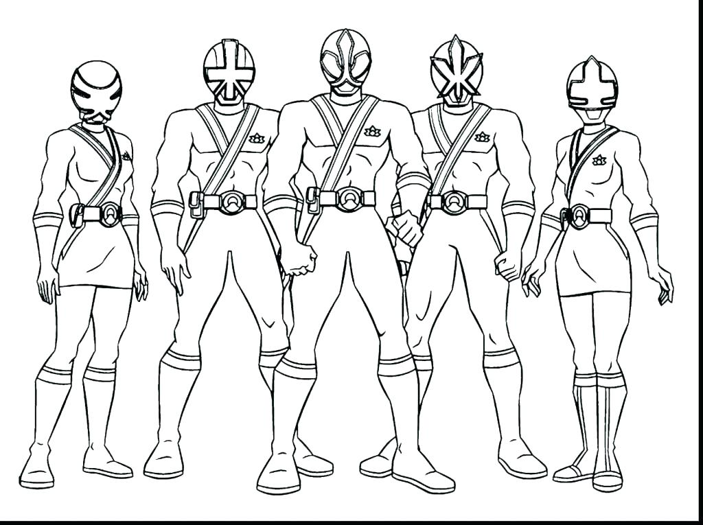 1024x765 Power Rangers Coloring Pages Mighty Power Rangers Coloring Pages