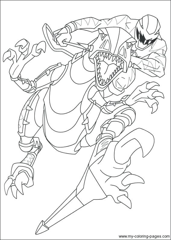567x794 Power Rangers Jungle Fury Coloring Pages Download Power Rangers