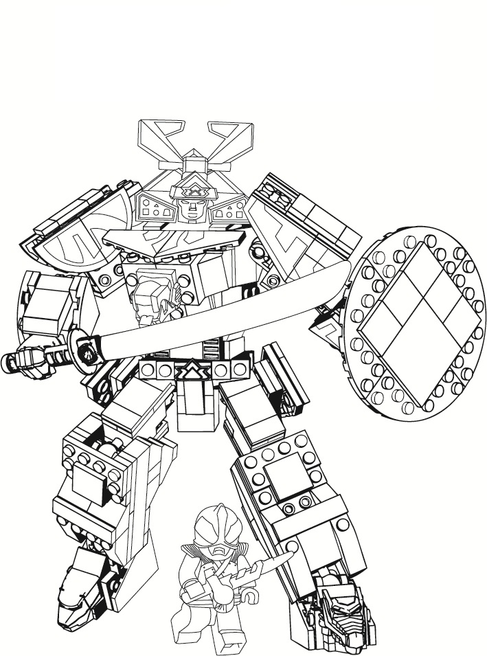 709x955 Power Rangers Megazord Coloring Pages