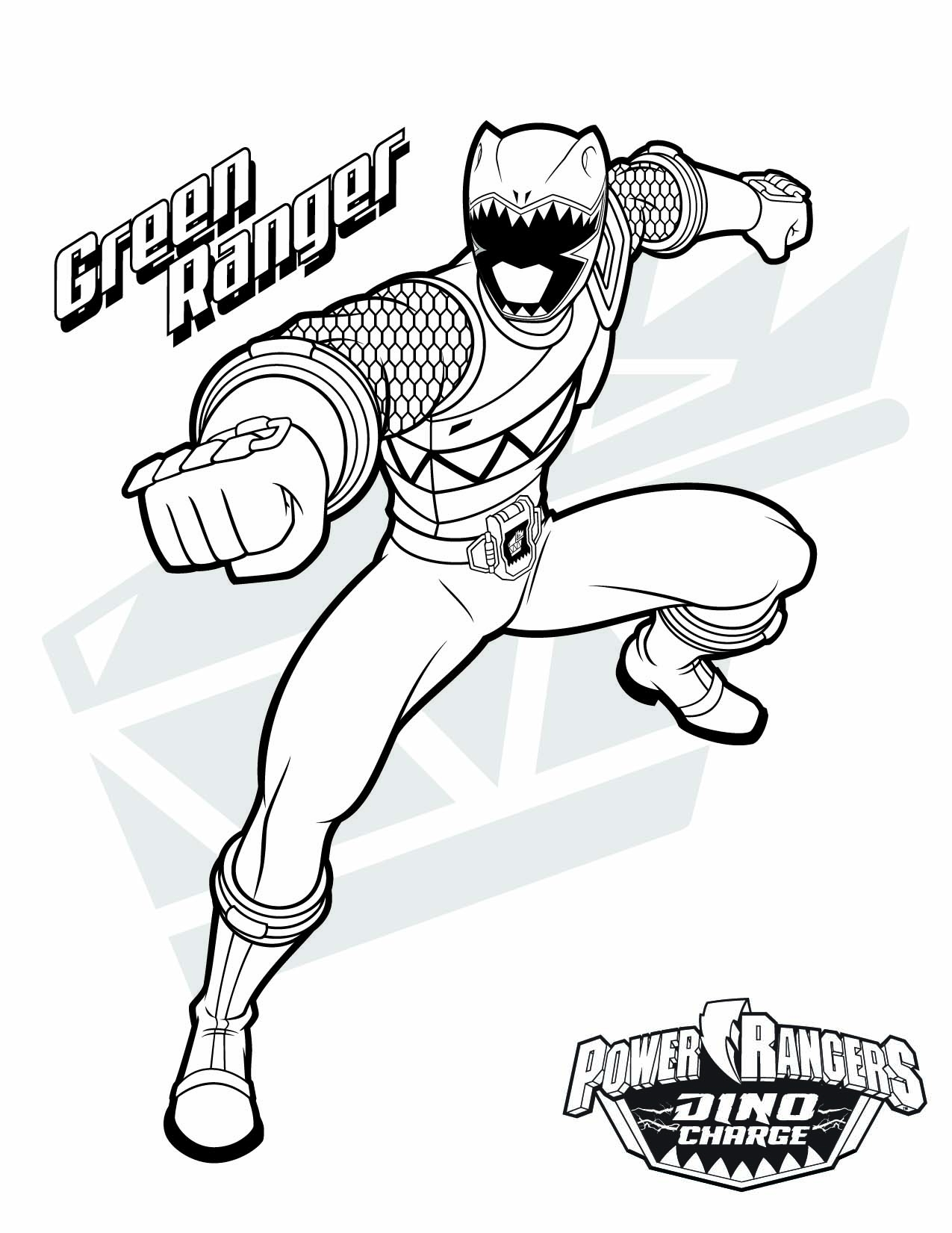 1275x1651 Power Rangers Megazord Coloring Pages Download