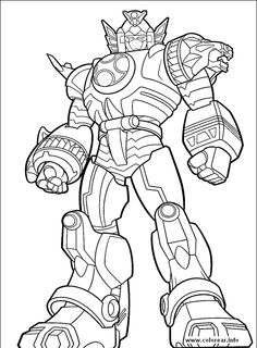 236x320 Power Rangers Wild Force Zords Coloring Pages