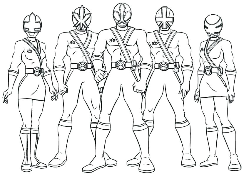 830x600 Power Rangers Color Pages Power Ranger Coloring Page Power Rangers