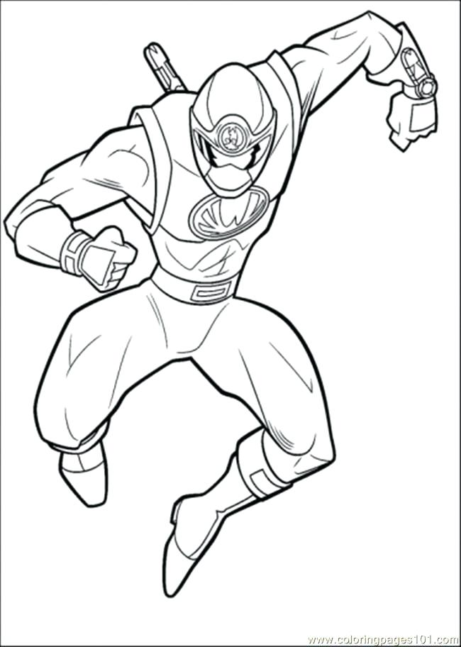 650x912 Power Rangers Dino Force Coloring Pages Free Thunder Fuhrer Von