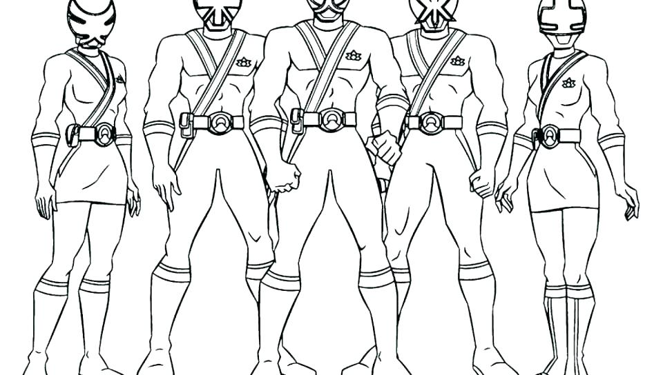 960x544 Power Rangers Samurai Coloring Pages Coloring Pages Articles