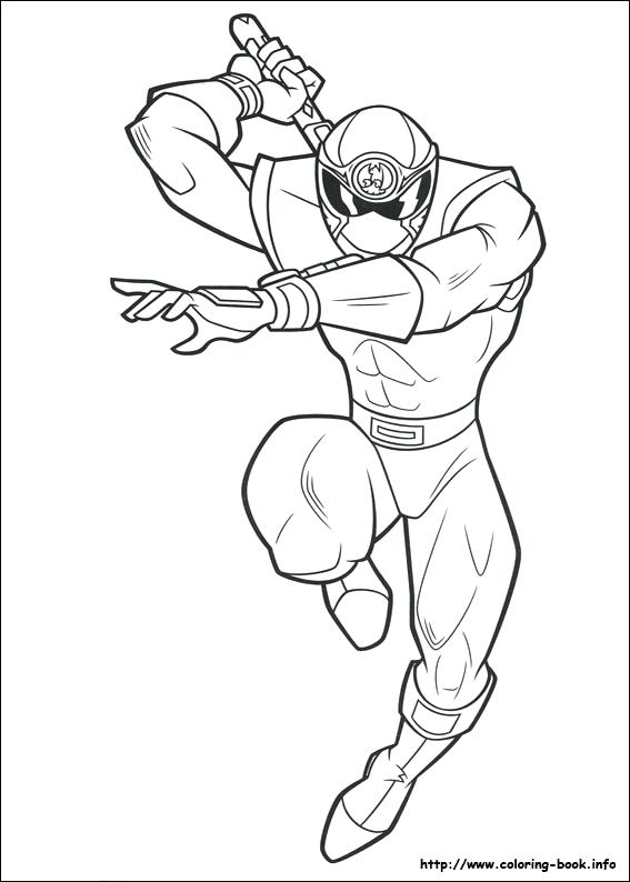 567x794 Power Rangers Super Samurai Coloring Pages To Print Icontent