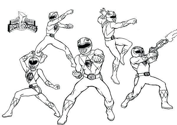 600x424 Power Ranger Coloring Pages Power Rangers Coloring Page Charming