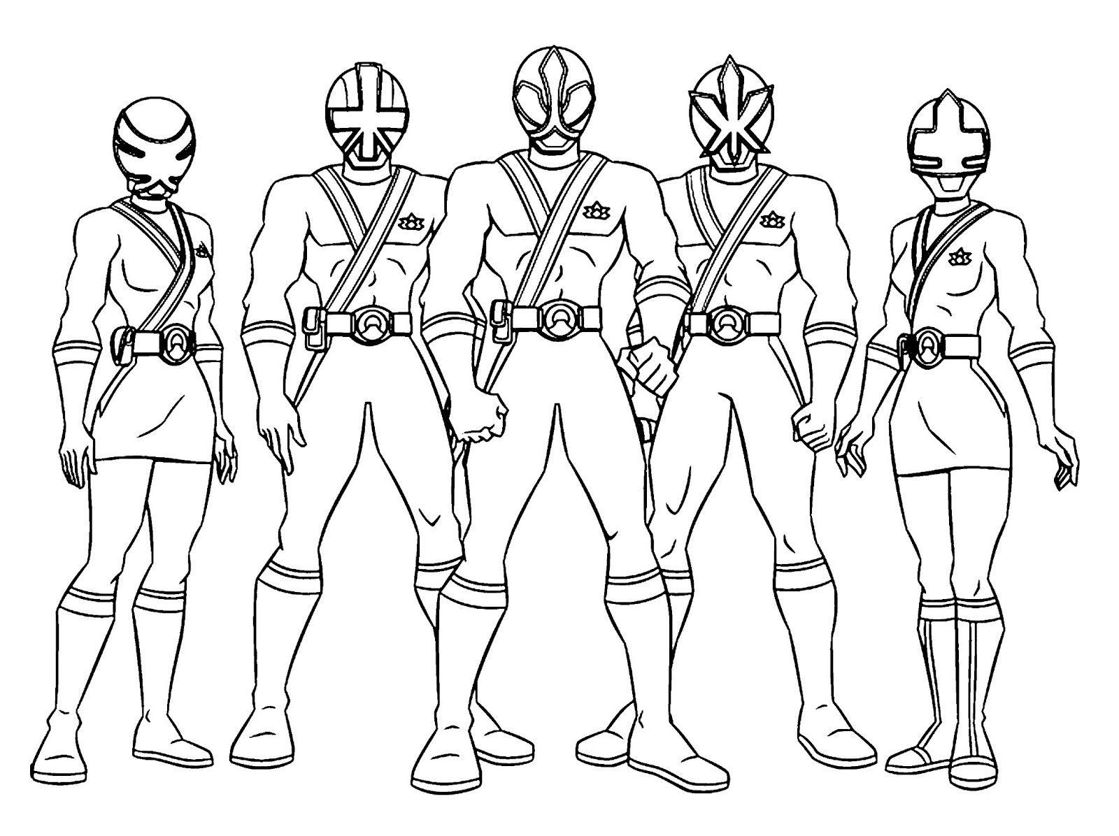 1600x1196 Power Rangers Poses A Team