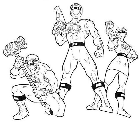 479x424 Power Rangers Printable Coloring Pages
