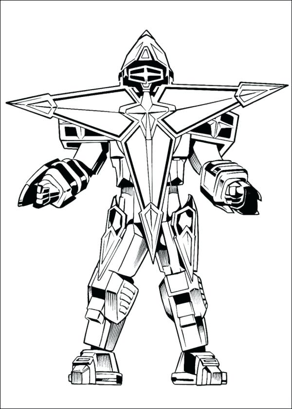 600x840 Power Rangers Printable Coloring Pages