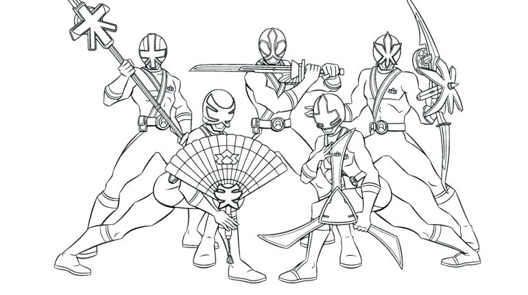 770x430 Power Rangers Printable Coloring Pages Here Are Power Ranger