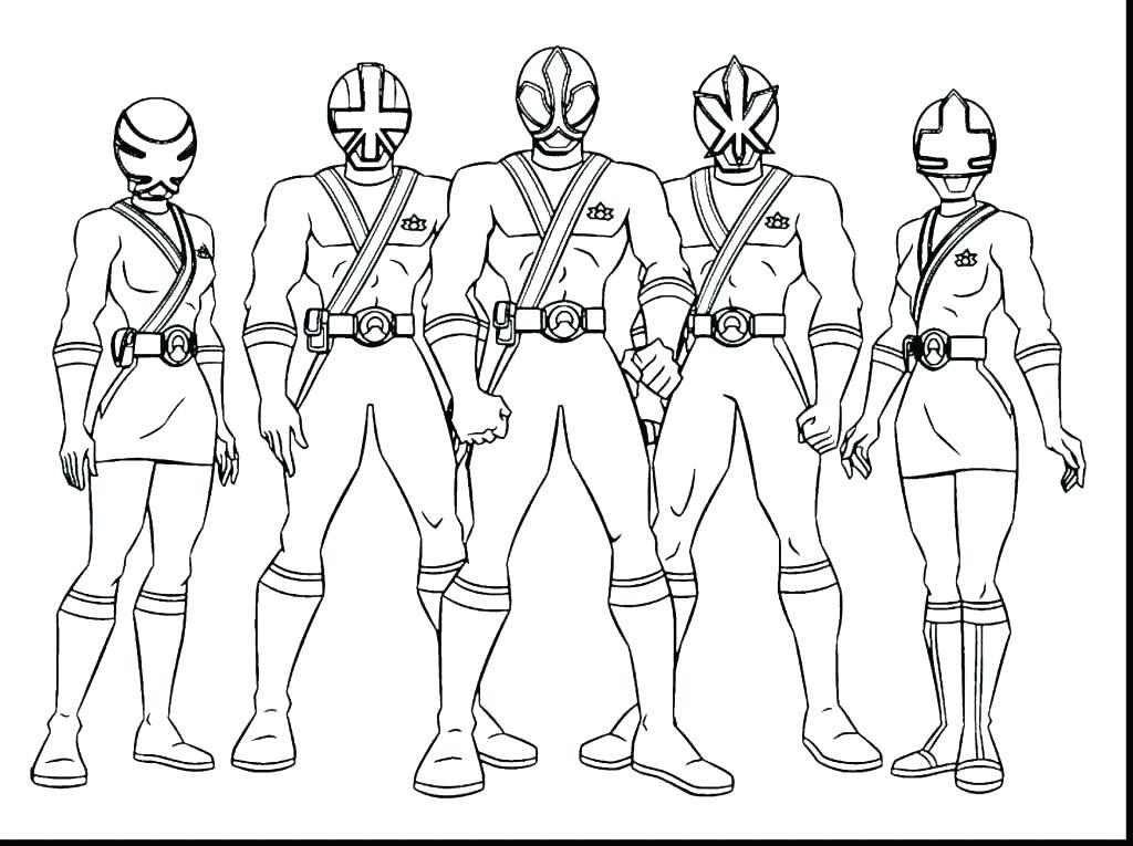 1024x765 Power Rangers Samurai Coloring Pages Power Rangers Printable