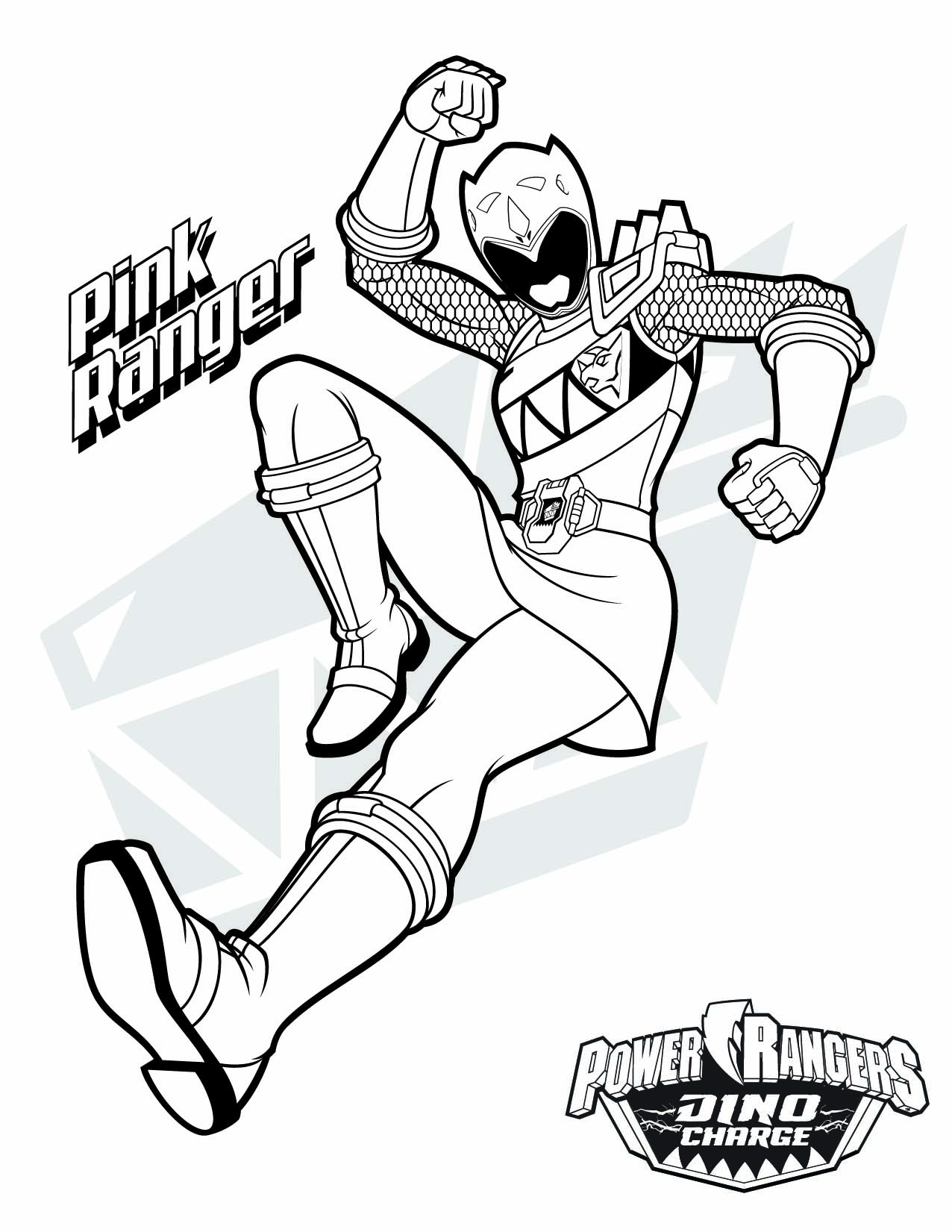 1276x1651 Power Ranger Printable Coloring Pages Printable