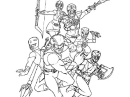 Power Rangers Wild Force Coloring Pages At Getdrawings Free Download