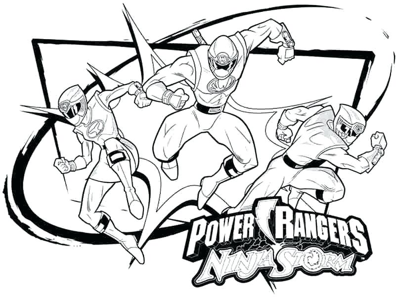 805x600 Power Rangers Deathly Punch Coloring Page Color Power Rangers