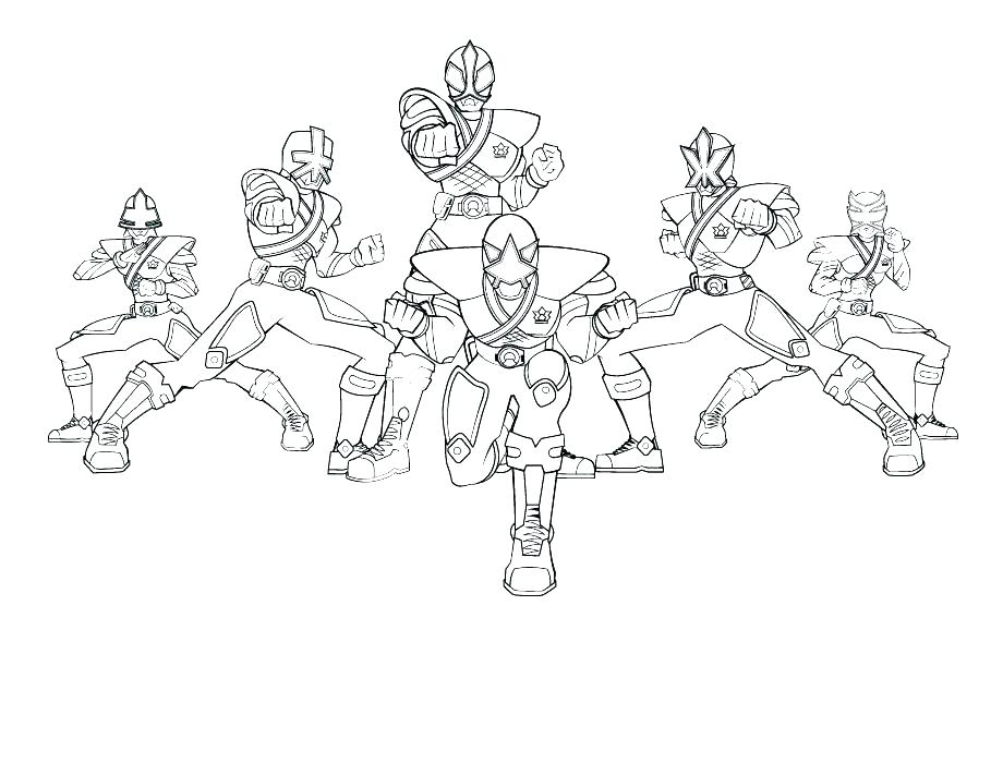 920x711 Power Rangers Wild Force Coloring Pages Power Ranger Samurai