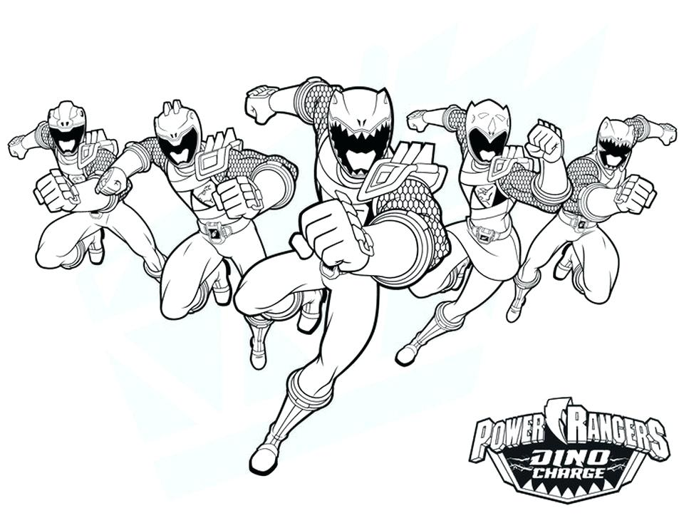 960x741 Power Rangers Wild Force Printable Coloring Pages Kids Coloring