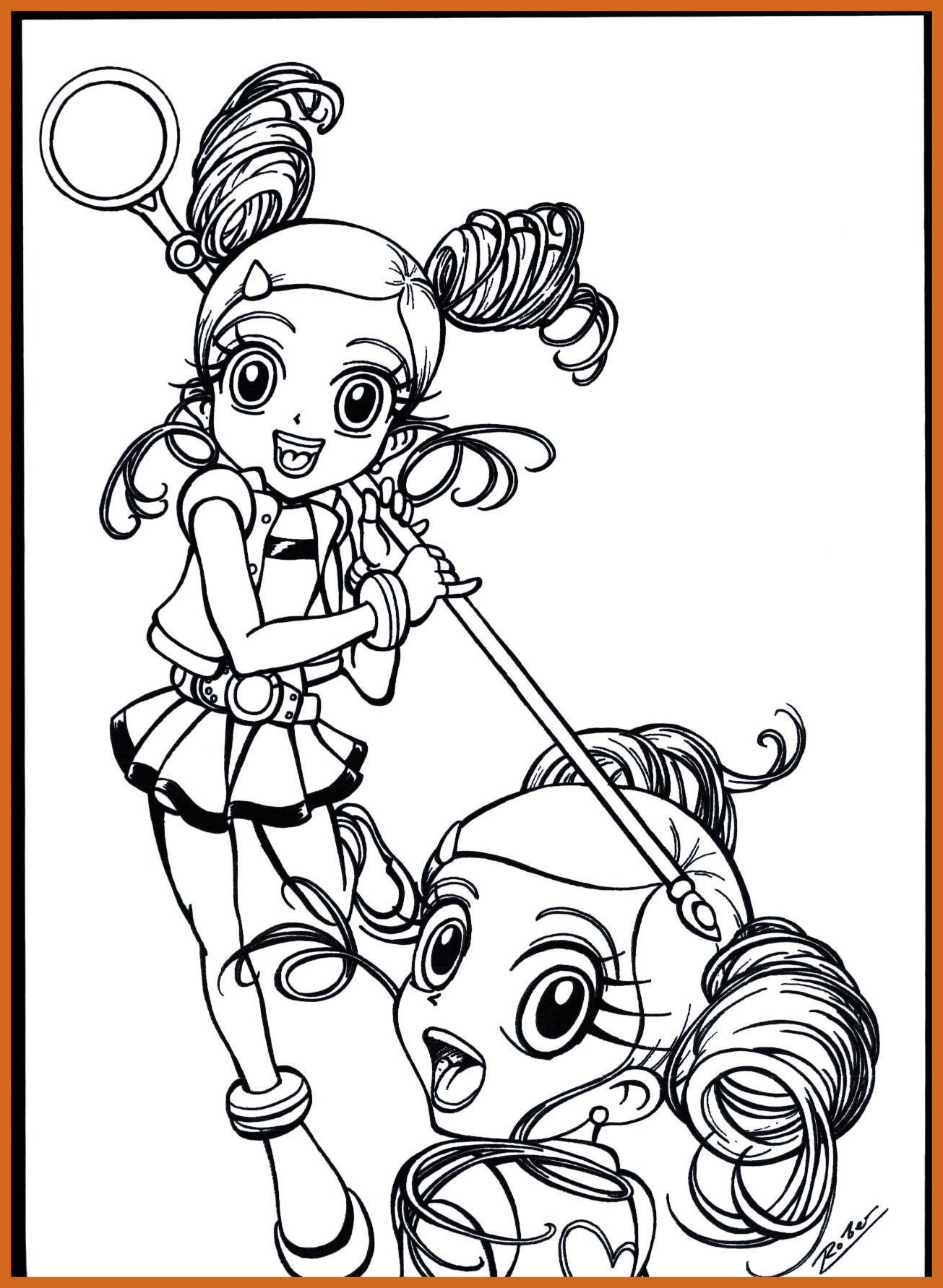 Powerpuff Coloring Pages At Getdrawings Com Free For Personal Use