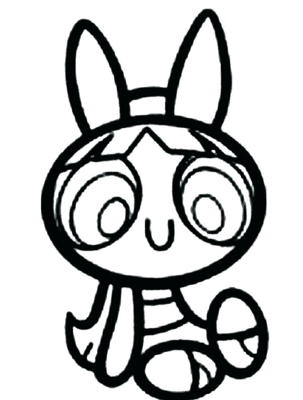 600x792 Power Puff Girls Coloring Page Girls Coloring Sheets Blossom Is