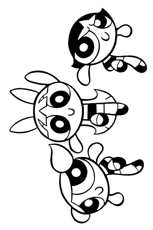 Powerpuff Girls Bubbles Coloring Pages At Getdrawings Com