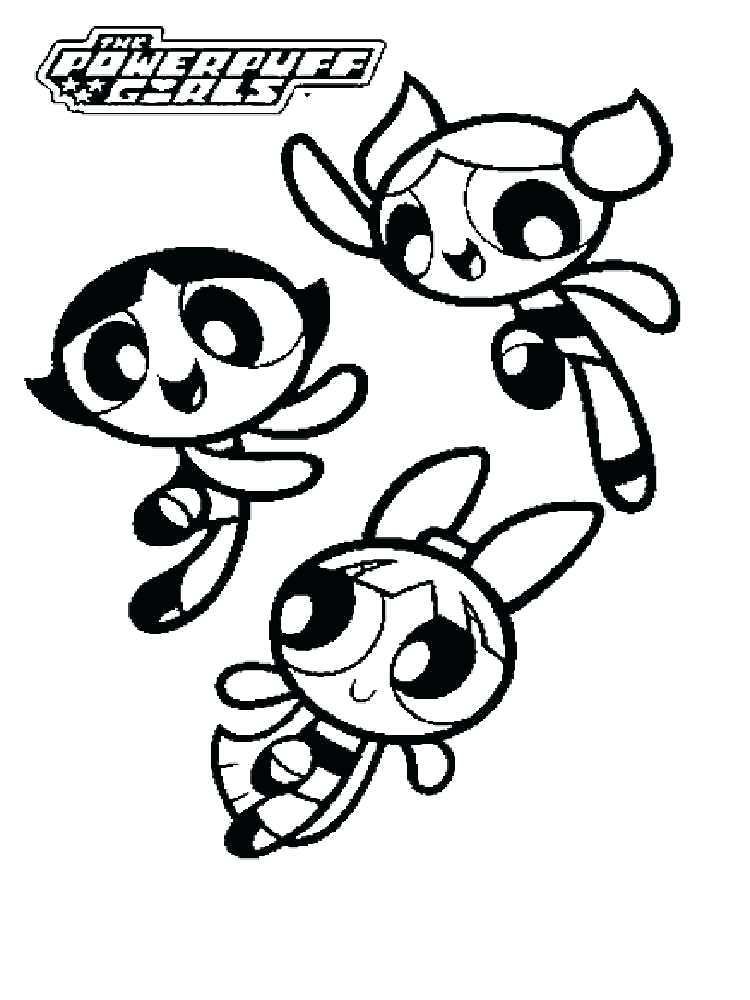 750x1000 Powerpuff Coloring Pages Power Puff Girls Coloring Page Buttercup