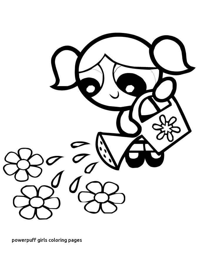 670x867 Powerpuff Girls Coloring Pages