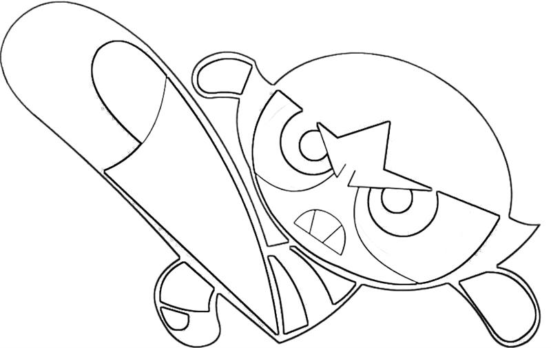 800x505 Powerpuff Girls Coloring Pages Of Buttercup Cooloringcom