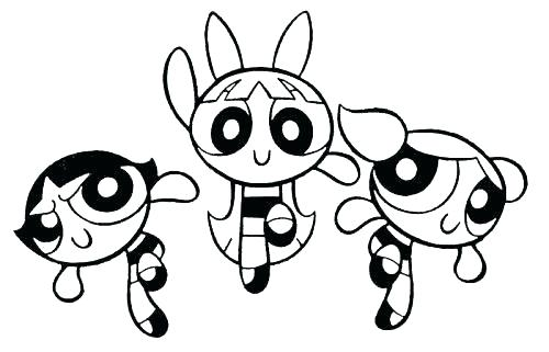 500x321 Powerpuff Girls Coloring Pages Girl Coloring Pages Coloring Pages