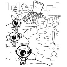 Powerpuff Girls Z Coloring Pages At Getdrawings Com Free For