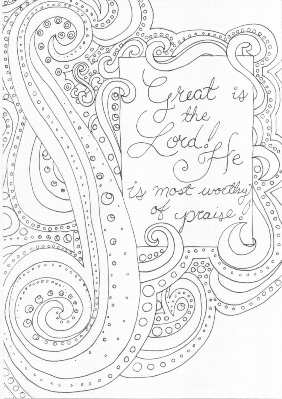 942x1333 Awesome Adult Coloring Pages The Lord Is My Rock Gallery