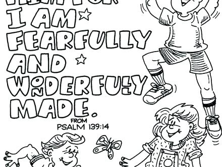 440x330 Bible Coloring Pages Faith Coloring Page To Print I Will Bible