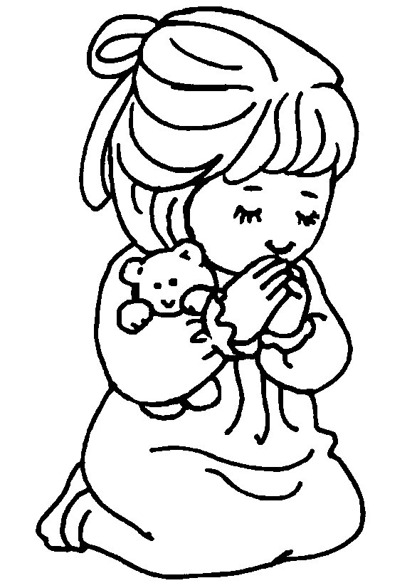 586x819 Praying Boy Coloring Page Prayer Coloring Pages Coloring Pages