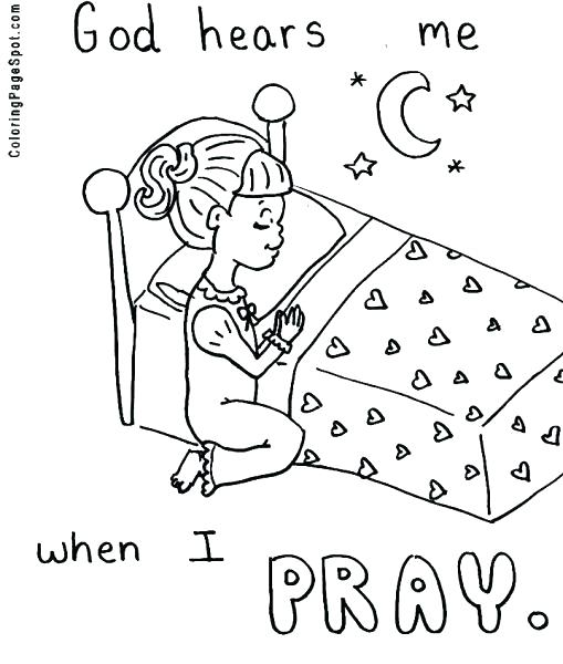 509x600 Praying Hands Coloring Page Child Praying Coloring Page Praying