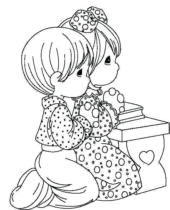 549x677 Children Praying Coloring Page Prayer Lessons For Kids Coloring