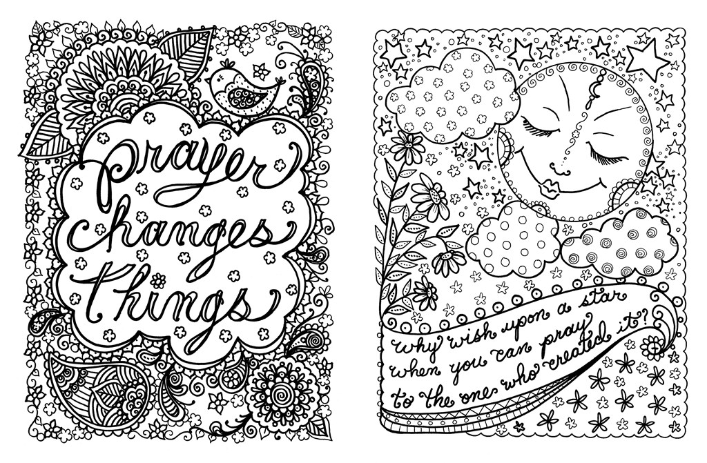 1024x671 Posh Adult Coloring Book Prayers For Inspiration Peace