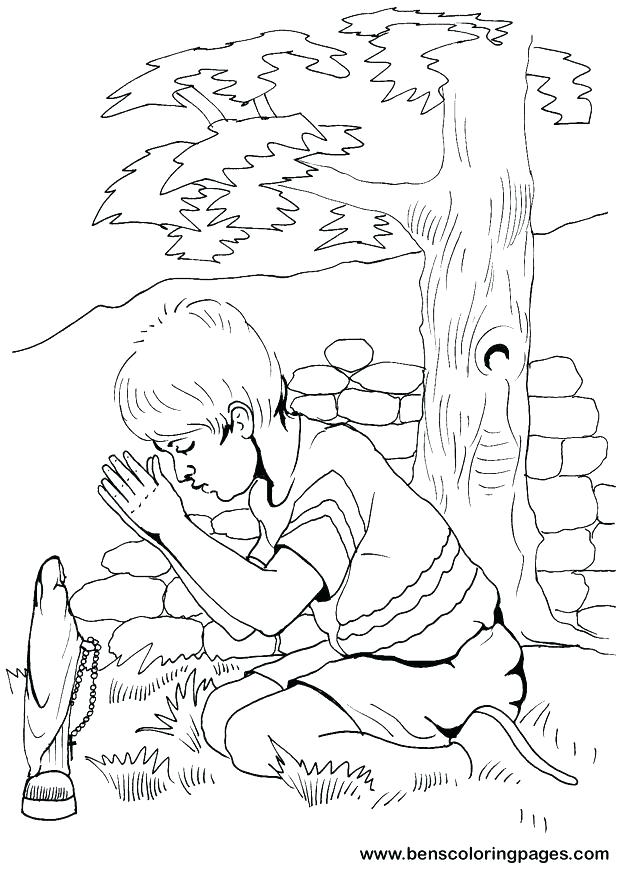 619x873 Children Praying Coloring Page Fresh Prayer Coloring Pages