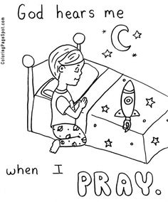 236x284 Free Lord's Prayer Coloring Pages For Children And Parents