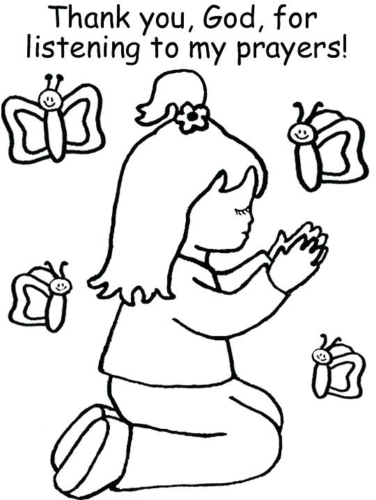 540x717 Lovely Prayer Coloring Pages To Print And Christian Coloring Page